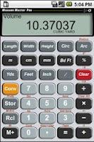 Screenshot of Measure Master Pro Calculator
