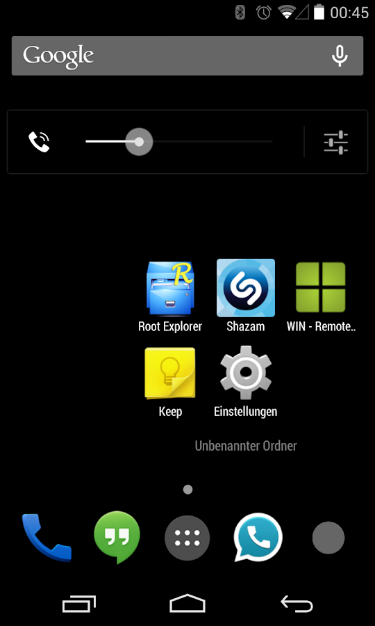BlackedOut CM11/10 Theme- screenshot