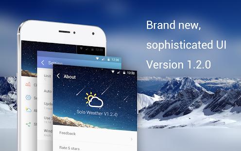 Solo Weather(Beta) - screenshot thumbnail