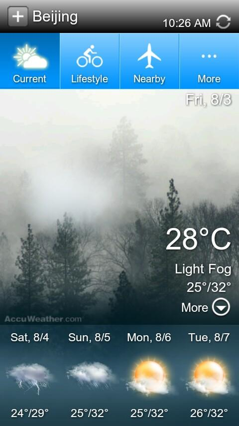 Linpus Weather - screenshot