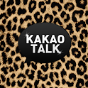 Brown leopard kakaotalk theme icon
