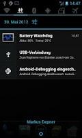 Screenshot of Battery Watchdog