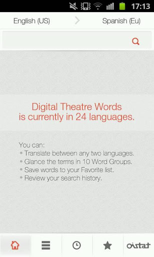 Digital Theatre Words 數位劇場詞彙