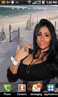 Snooki Live Wallpaper - screenshot thumbnail