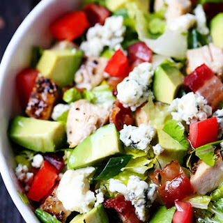 Chicken, Bacon & Avocado Chopped Salad