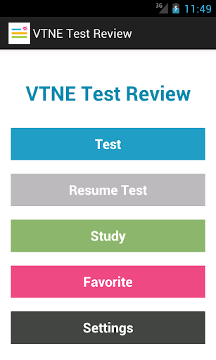 VTNE Test Review