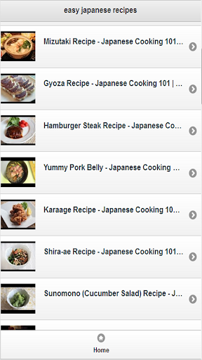 easy japanese recipes