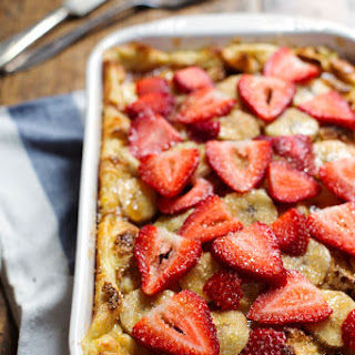 Super Easy Coconut French Toast Bake.