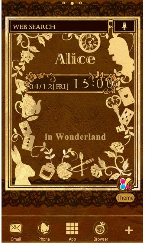 Old Book Of Alice for[+]HOME - screenshot