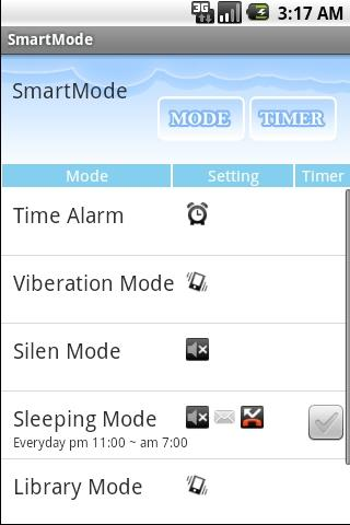 Ringer Manager - SmartMode - screenshot