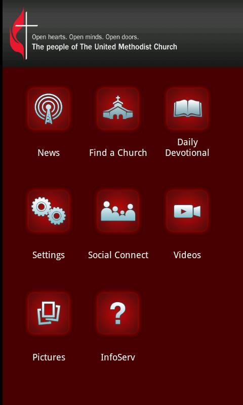 The United Methodist Church - screenshot