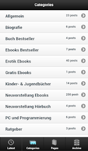 Bücher und Ebooks Blog - screenshot thumbnail
