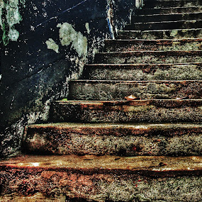 Old Stairs by Shahrul A Hamid - Buildings & Architecture Decaying & Abandoned (  )