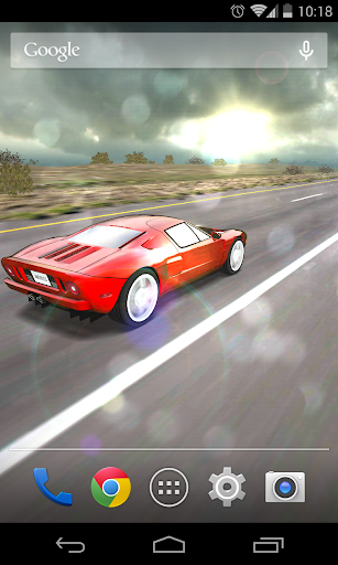 3D Car Live Wallpaper Free