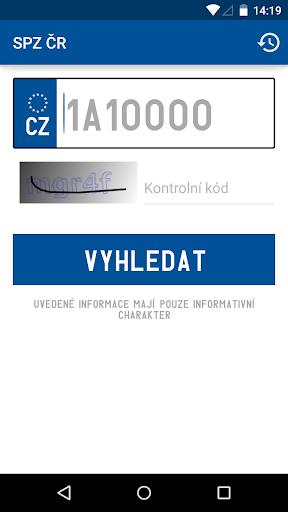 SPZ ČR
