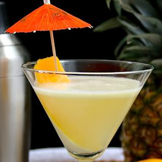 Coconut Mango-tini.