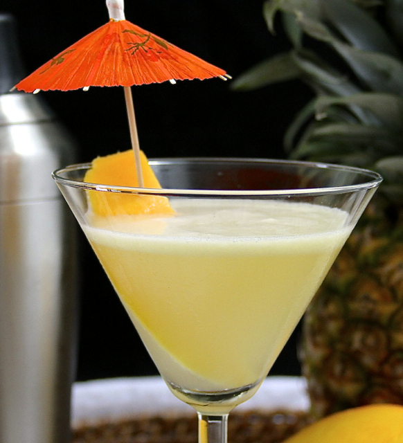 Coconut Mango-Tini Recipe