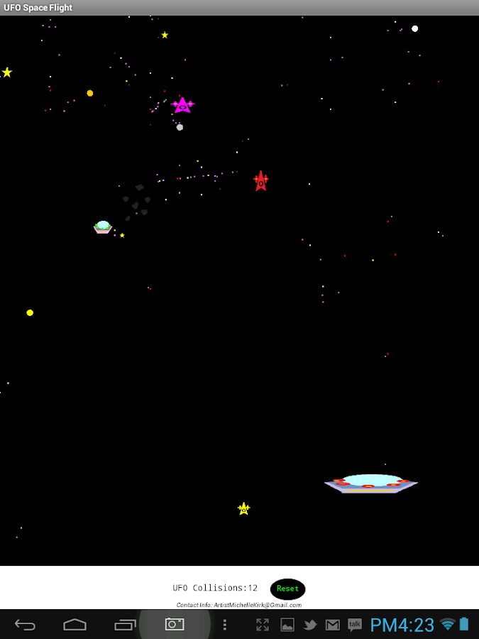 UFO Space Flight- screenshot
