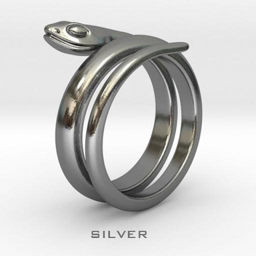 蛇指輪 US7
