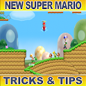 New Super Mario Bros Tricks logo