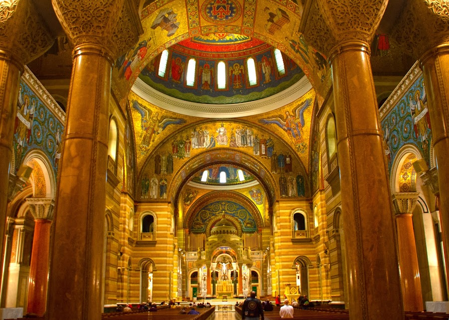basilica in st louis, mo  by Jody Jedlicka - Buildings & Architecture Places of Worship ( st louis, church, places of interest, architecture, basilica )