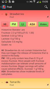 Food Intolerances - screenshot thumbnail