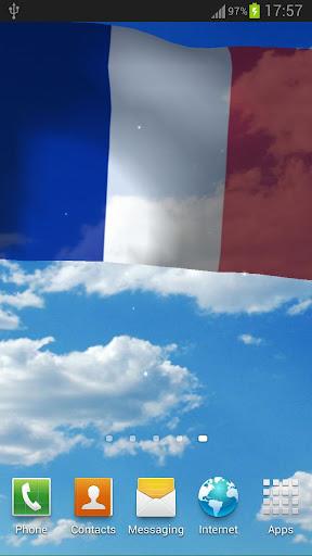 法國國旗動態桌布