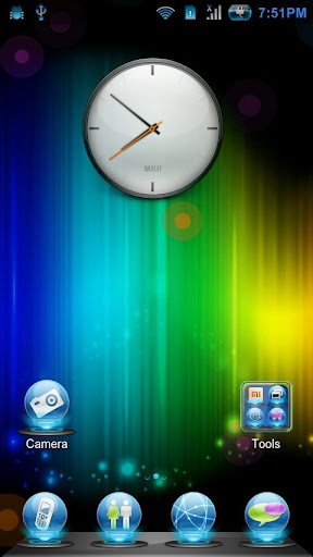 Light Abstract Live Wallpaper
