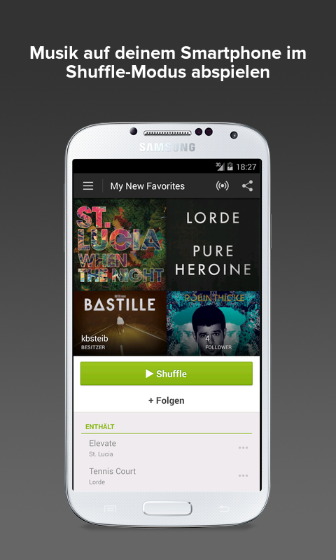 Spotify - screenshot