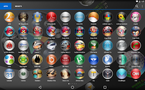 Icon Pack Wallpapers 3D Bubble v1.0
