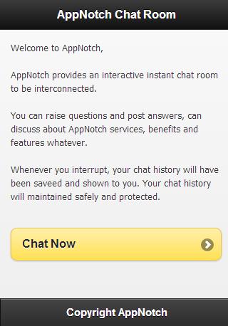 AppNotch Chat Room