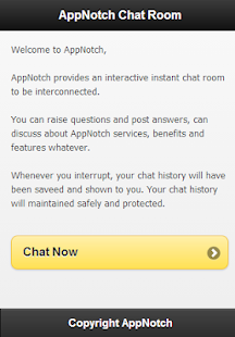 AppNotch Chat Room - screenshot thumbnail