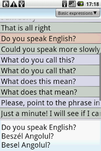 BKS English-Hungarian PhraseBk - screenshot thumbnail