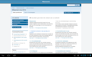 Screenshot of Rijksfinanciën