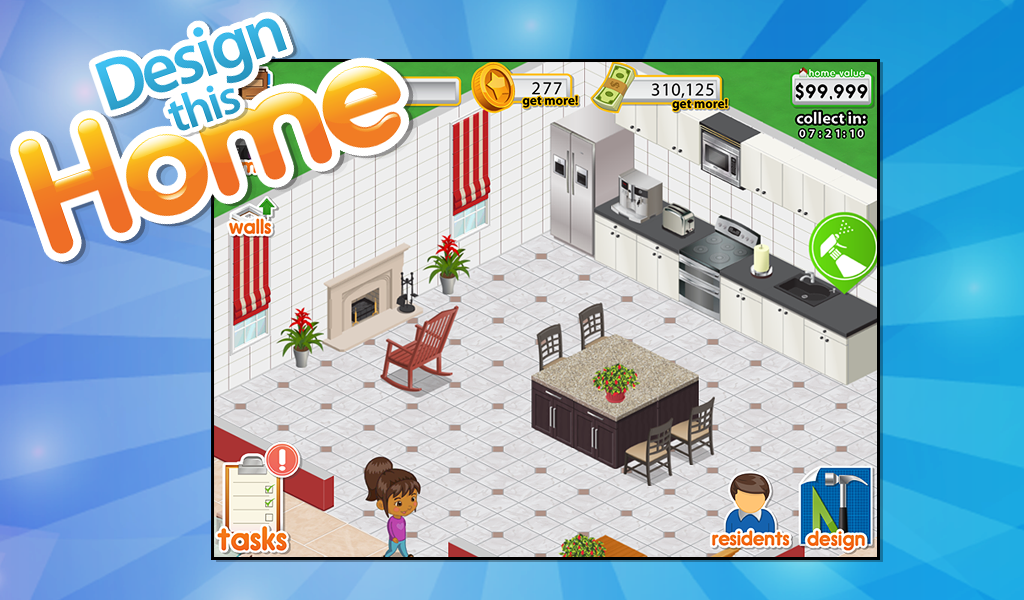 Play home design story game online - Home design