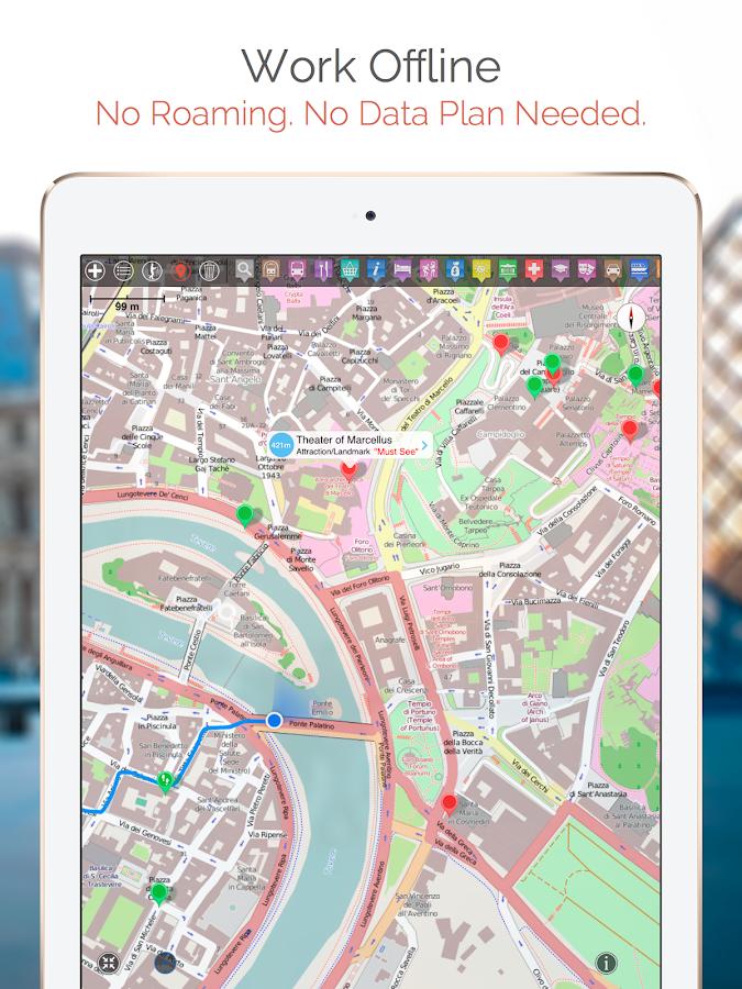 Abu Dhabi Map And Walks Android Apps On Google Play - Bus map abu dhabi