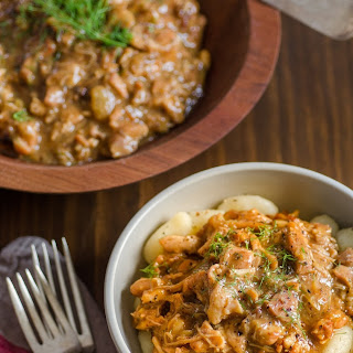 Chicken Ragù with Bacon & Fennel