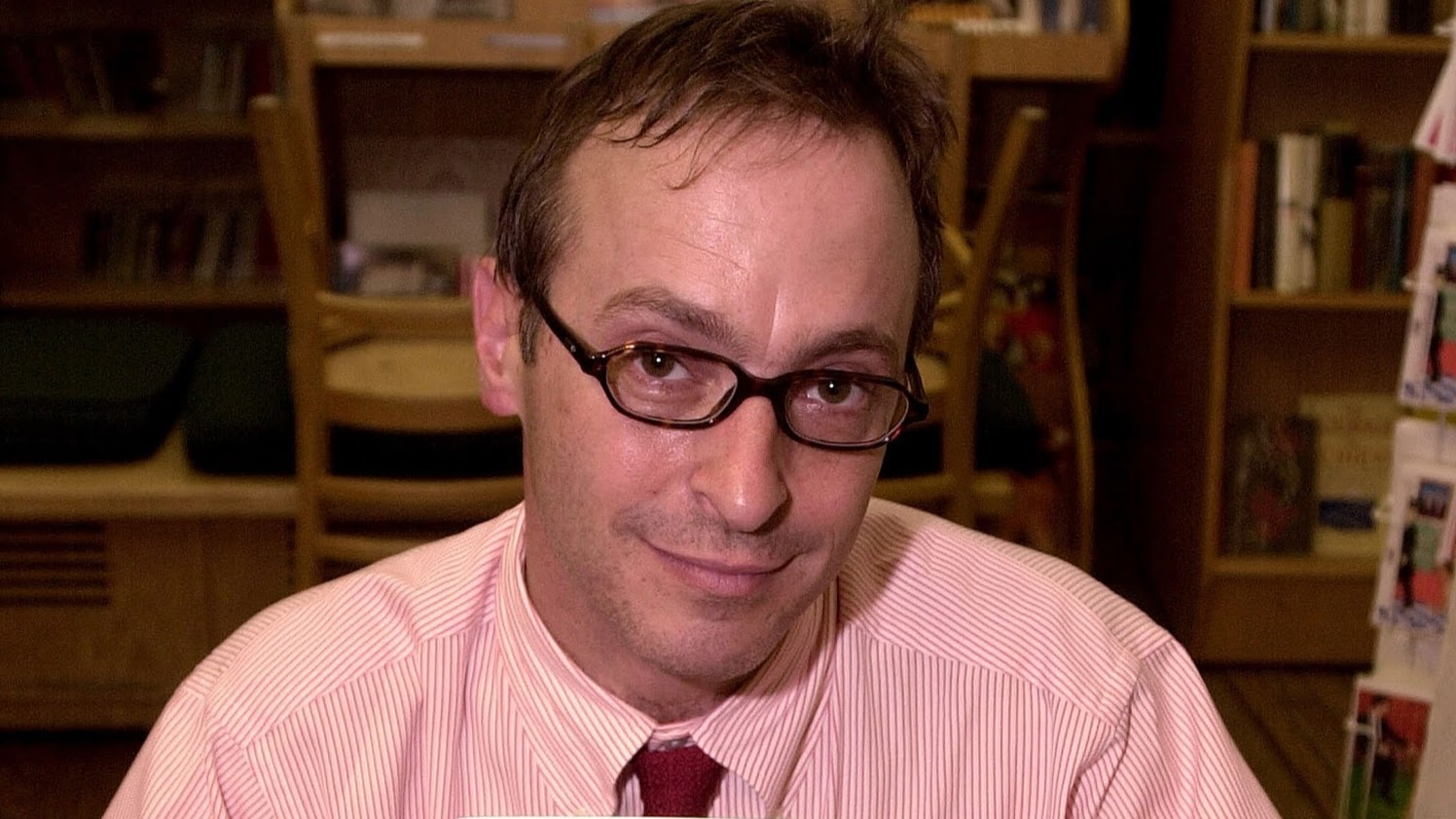 david sedaris first book essays Happy 57th birthday to david sedaris: writer 5 of david sedaris' funniest essays sedaris recalls how his book tours are bookended by humorous trips to costco.