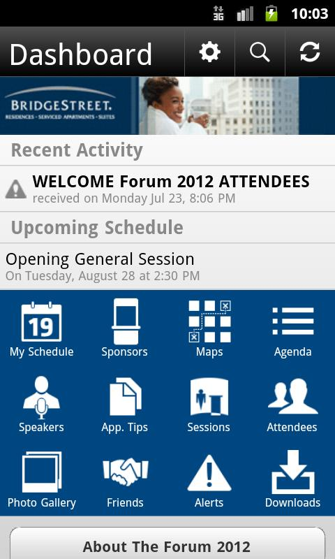 The Forum 2012 - screenshot