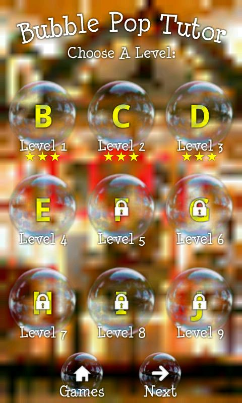 BubblePop Tutor Kids Game Free- screenshot