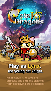 Cats vs Dragons- screenshot thumbnail