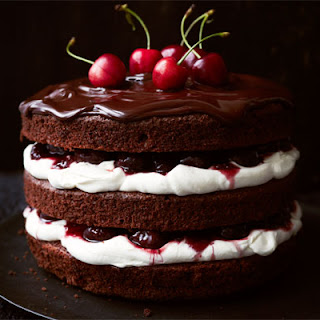 Black Forest gâteau.