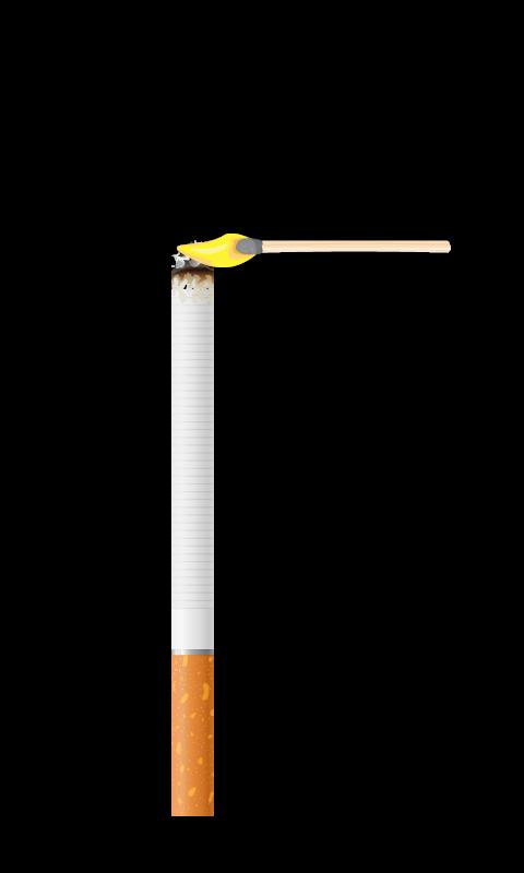 Virtual Cigarette - screenshot