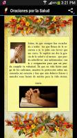 Screenshot of Oraciones por la Salud