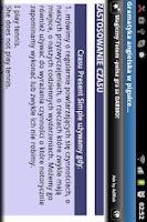 Screenshot of Angielski Gramatyka