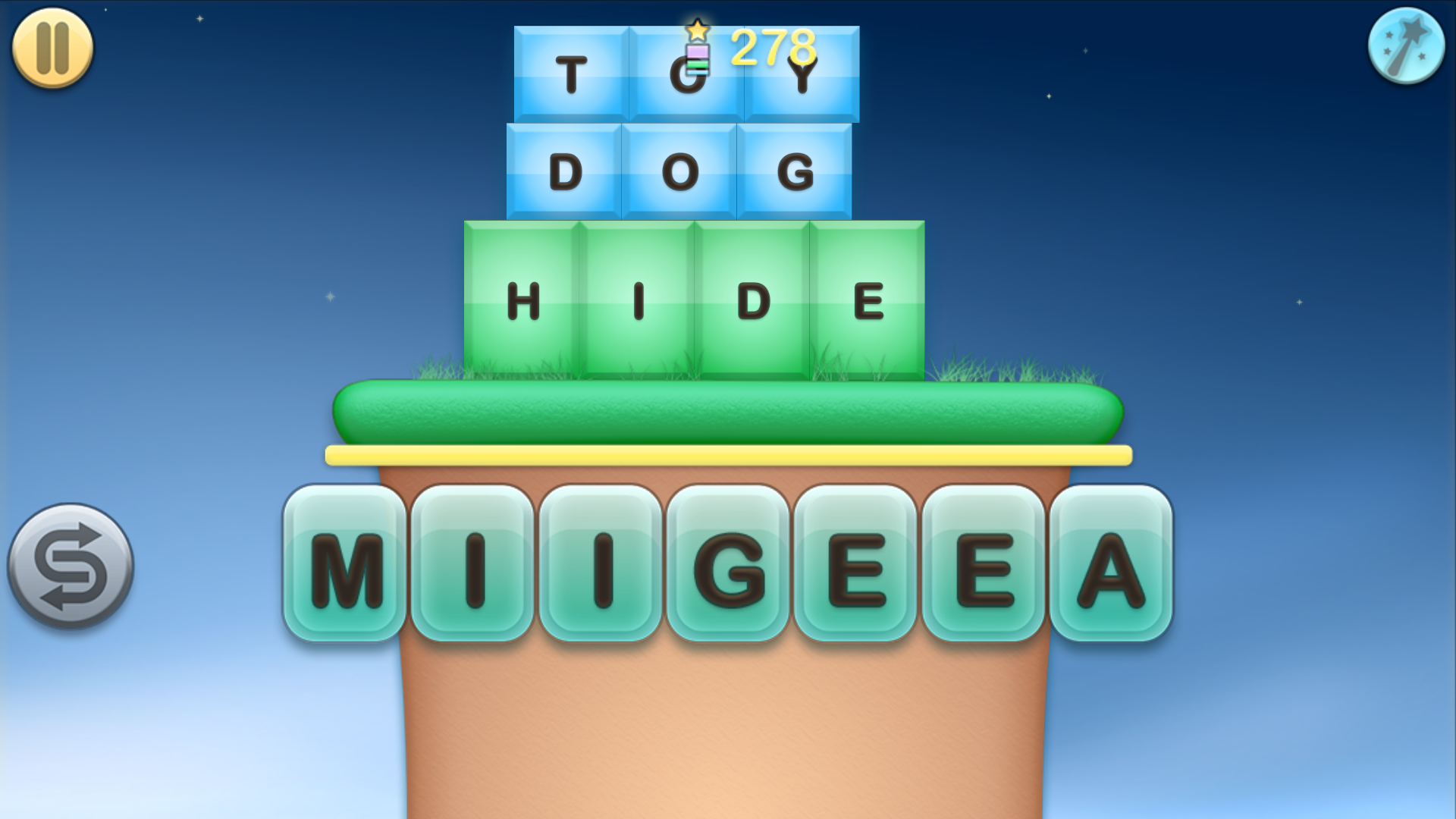 Jumbline 2 - word game puzzle screenshot #4