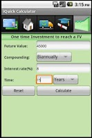 Screenshot of Financial Calculator Pro