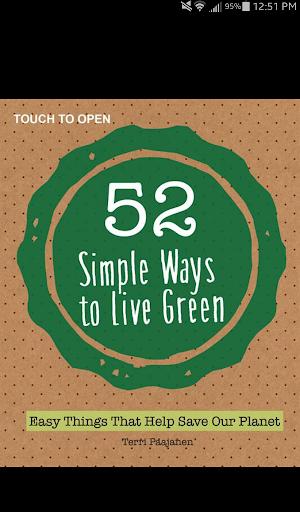 【免費生活App】52 Simple Ways to Live Green-APP點子