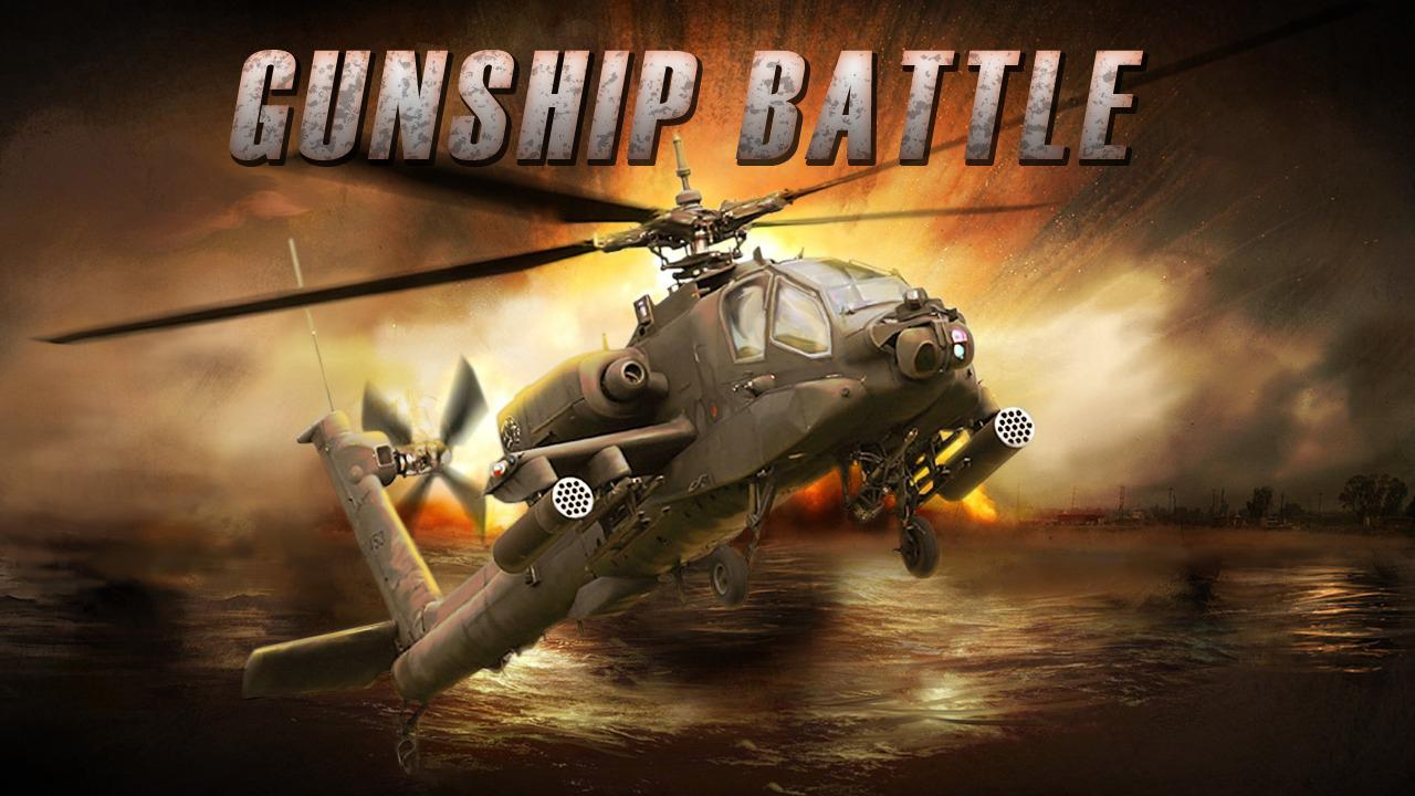 Sit at the controls of a combat helicopter