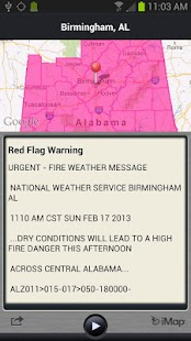 WRAL Weather Alert- screenshot thumbnail
